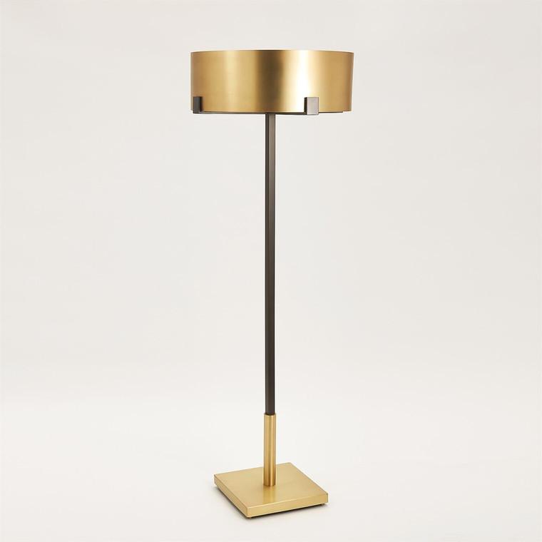 Global Views Empire Floor Lamp-Brass/Bronze 7.91196