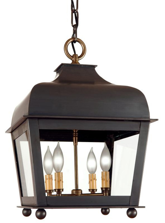Fourteenth Colony Outdoor Lighting Winchester Small Hanging Lantern 4 Light LM8-S