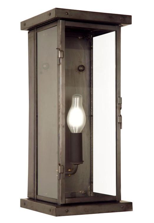 Fourteenth Colony Outdoor Lighting Vineyard Haven 1 Light Pocket Wall Lantern BHAM