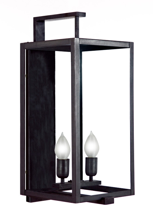 Fourteenth Colony Outdoor Lighting Sausalito 2 Light Wall Lantern with Bracket HHN18