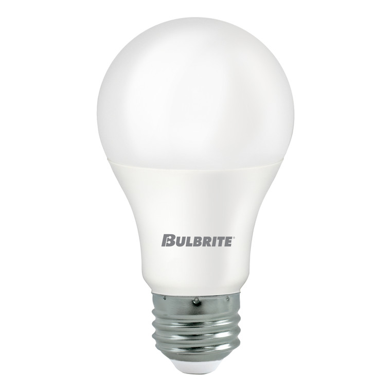 Bulbrite: 774023 LED A-Type Non-Dimmable: A19 Watts: 9 - LED9A19/827/3-C (1 Pack)