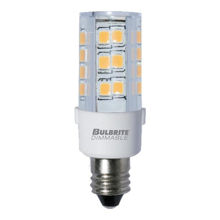 Bulbrite: 770581 LED Specialty Minis 120V: E11, E12 Watts: 4.5 - LED4E11/30K/120/D (5 Pack)
