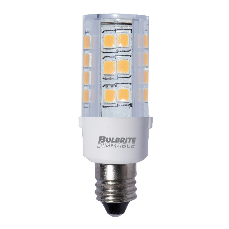 Bulbrite: 770584 LED Specialty Minis 120V: E11, E12 Watts: 4.5 - LED4E12/30K/120/D (5 Pack)
