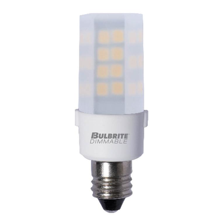 Bulbrite: 770596 LED Specialty Minis 120V: E11, E12 Watts: 4.5 - LED4E12/27K/120/F/D (5 Pack)