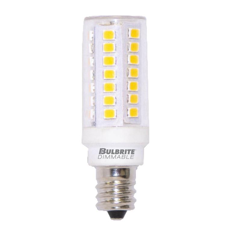 Bulbrite: 770632 LED Specialty Minis 120V: E11, E12 Watts: 5 - LED5E12/30K/120/D (5 Pack)