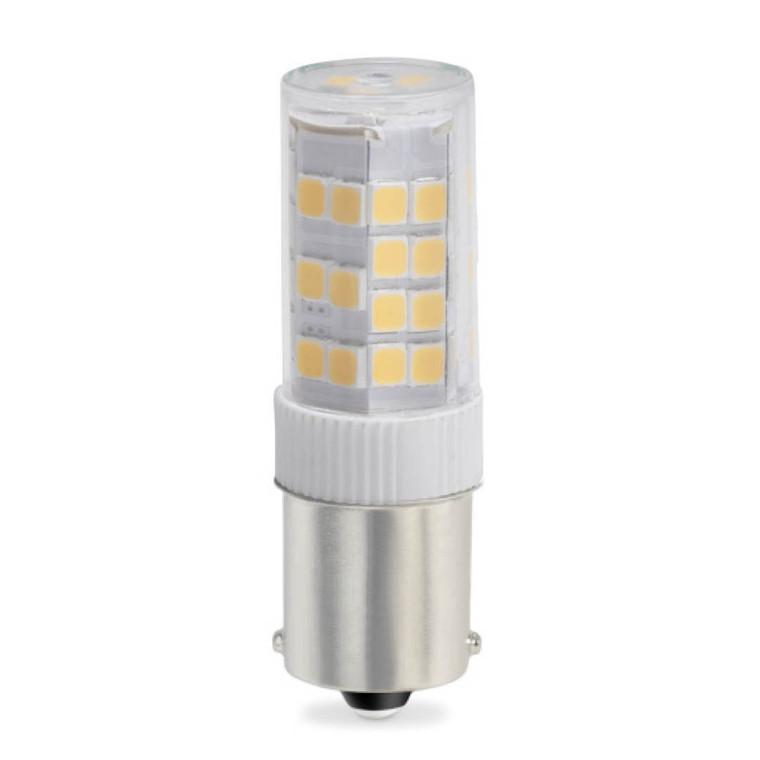 Bulbrite: 770618 LED Specialty Minis 12V/120V: Bayonet Watts: 4.5 - LED4SC/27K/12 (5 Pack)