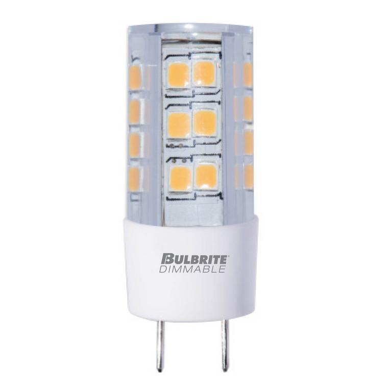Bulbrite: 770588 LED Specialty Minis 12V/120V: GY6, G8, G9 Watts: 4.5 - LED4GY8/27K/120/D (5 Pack)