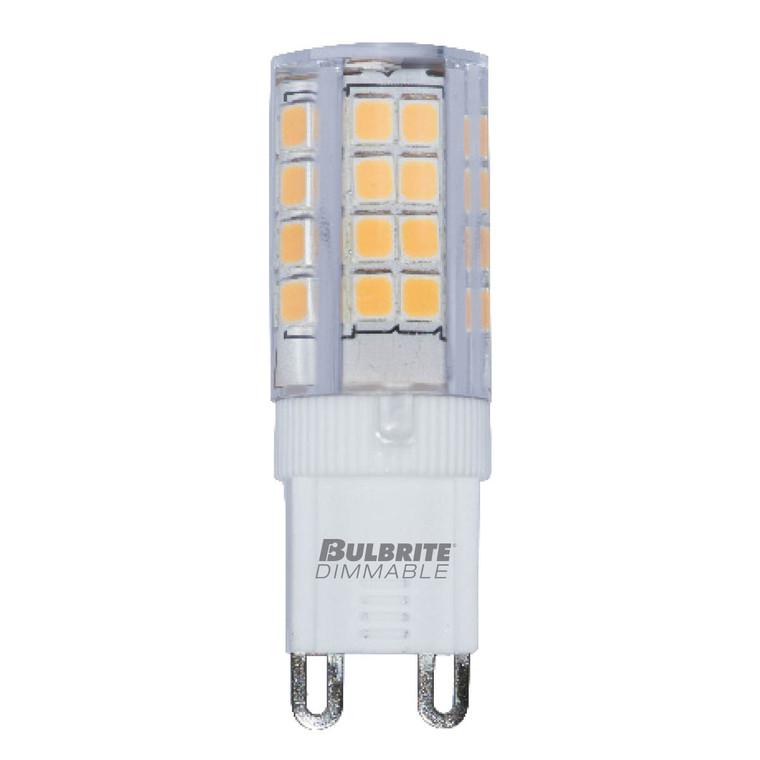 Bulbrite: 770590 LED Specialty Minis 12V/120V: GY6, G8, G9 Watts: 4.5 - LED4G9/27K/120/D (5 Pack)