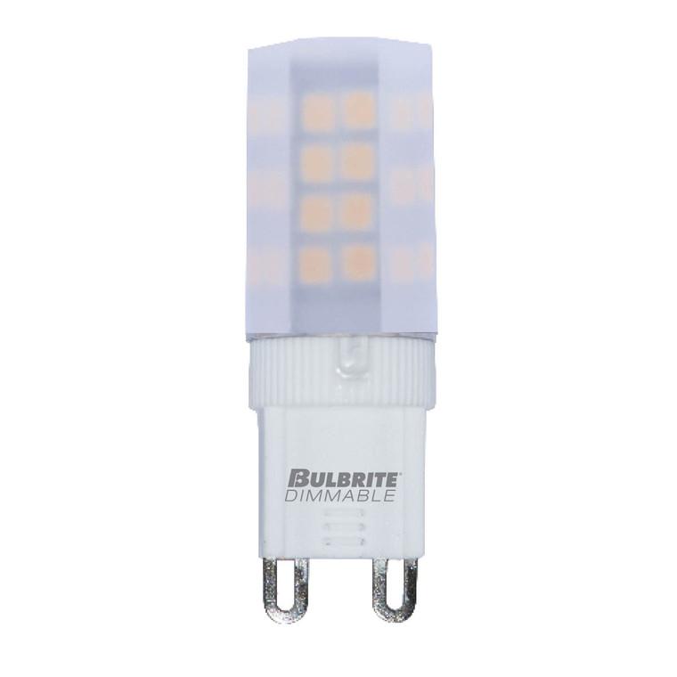 Bulbrite: 770591 LED Specialty Minis 12V/120V: GY6, G8, G9 Watts: 4.5 - LED4G9/27K/120/F/D (5 Pack)