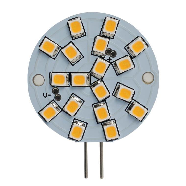 Bulbrite: 770621 LED Specialty Minis: JC Bi-Pin (G4) Watts: 2.8 - LED3G4/WA/30K/12 (5 Pack)