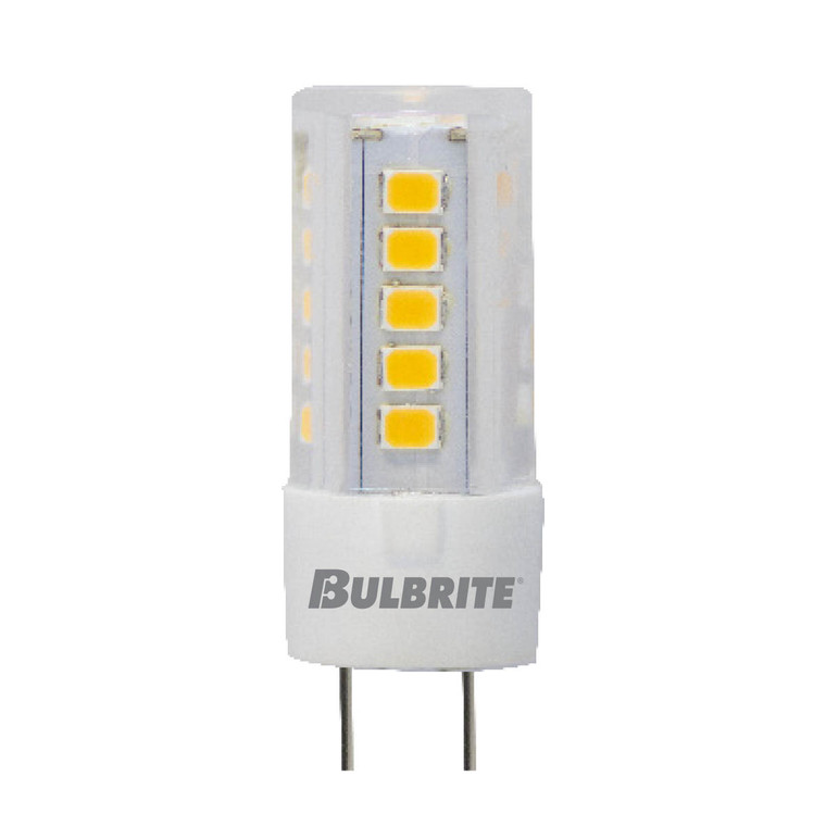 Bulbrite: 770624 LED Specialty Minis: JC Bi-Pin (G4) Watts: 4.5 - LED4G4/30K/12 (5 Pack)