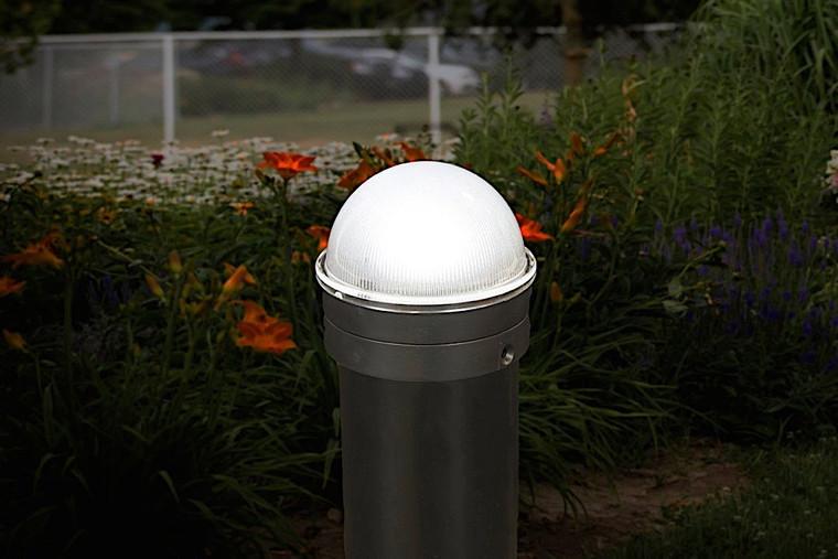 Classy Caps Silver Chainlink Summit Solar Post Cap CH2233S