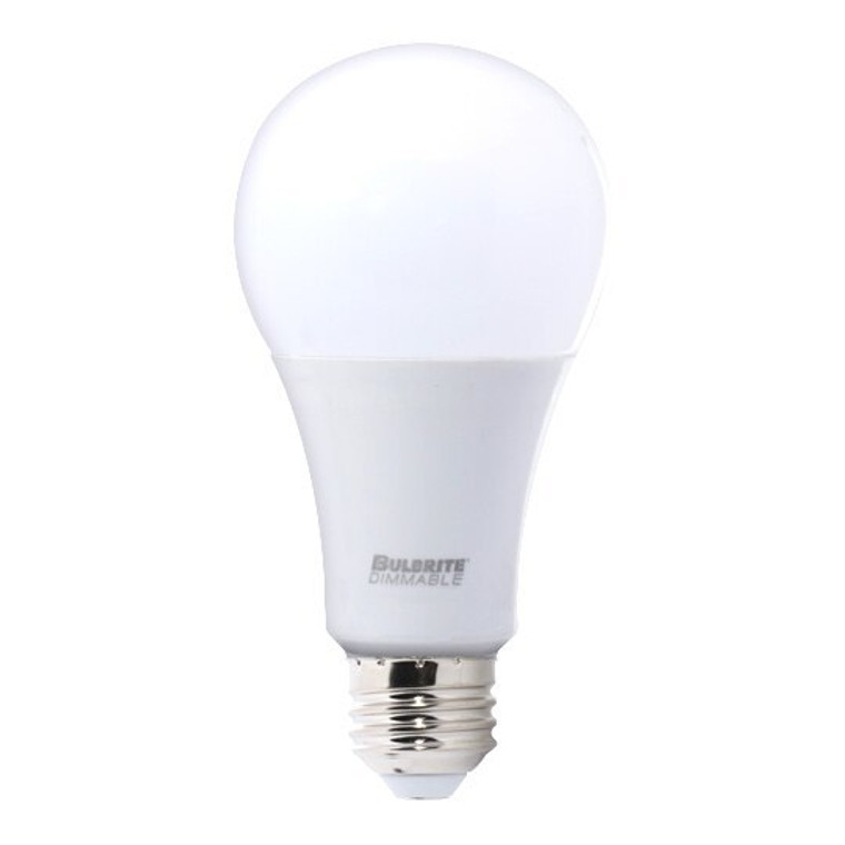 Bulbrite: 774125-2 LED A-Type Dimmable: A21 Watts: 16 Very Bright Premium bulb- LED16A21/830/D/2 (2 Pack)