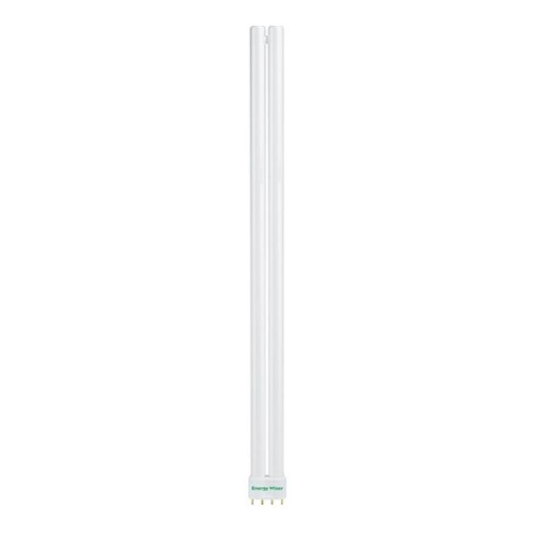 Bulbrite: 504550 CFL Energy Wiser¨ Plug In: High Lumen Long Twin - FT Watts: 55 - FT55/830 (1 Pack)
