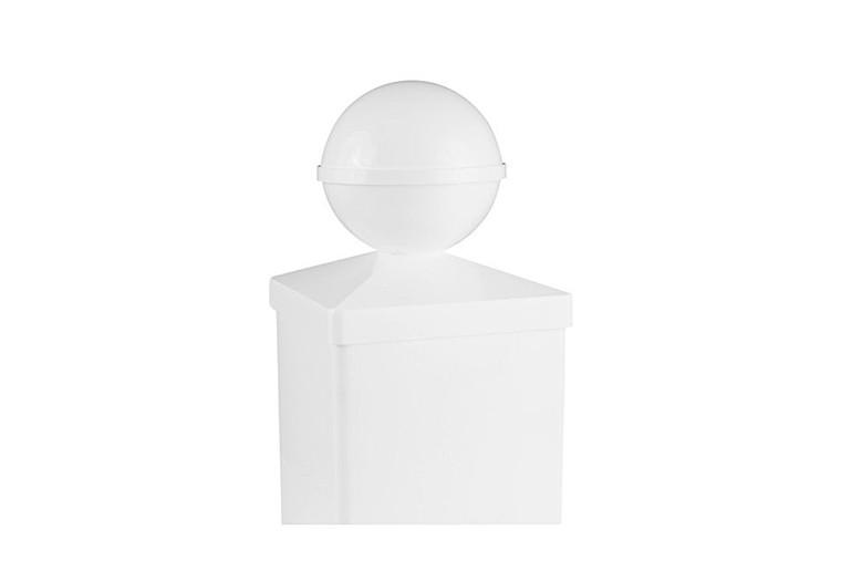 Classy Caps 4X4 Ball PVC Post Cap BP944