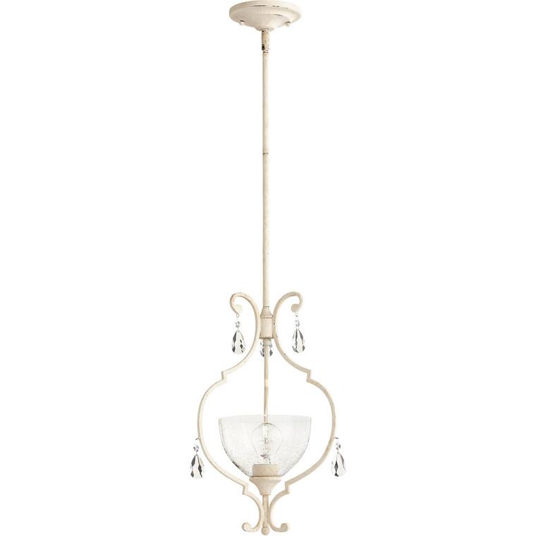 Quorum Ansley Pendant in Persian White 3814-70