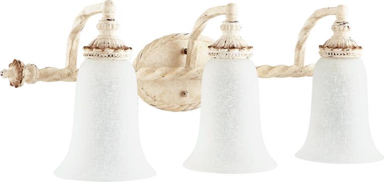 Quorum Alameda Vanity in Persian White 5386-3-70