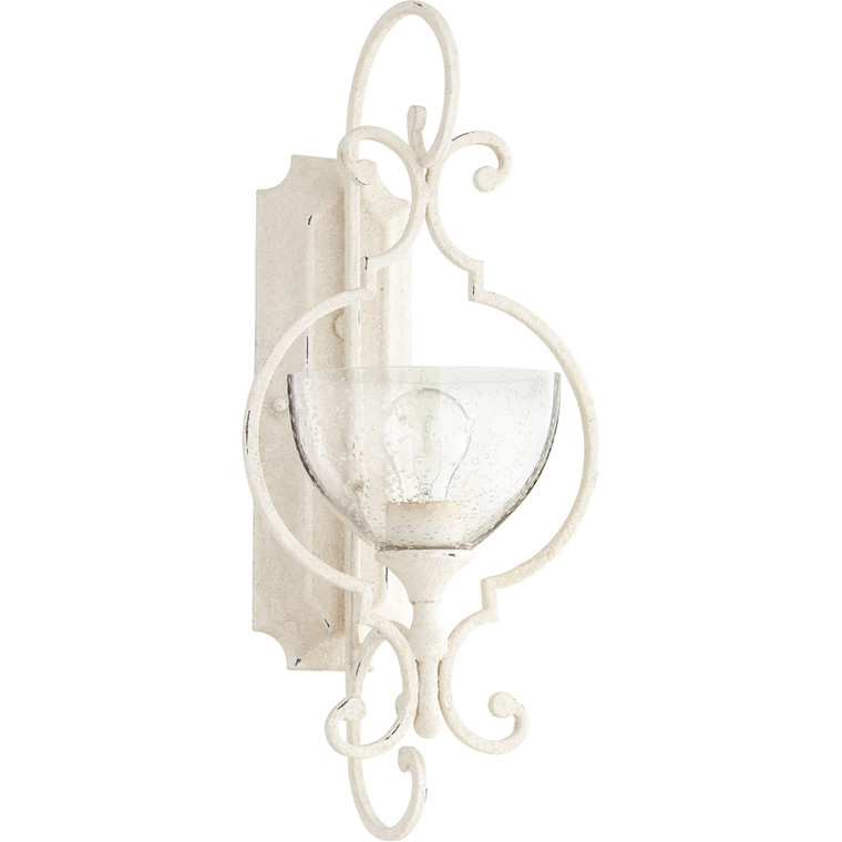 Quorum Ansley Wall Mount in Persian White 5414-1-70