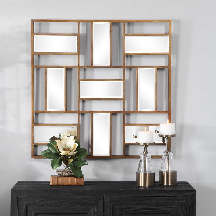 Uttermost Nadina Mirrored Wall Decor 04203