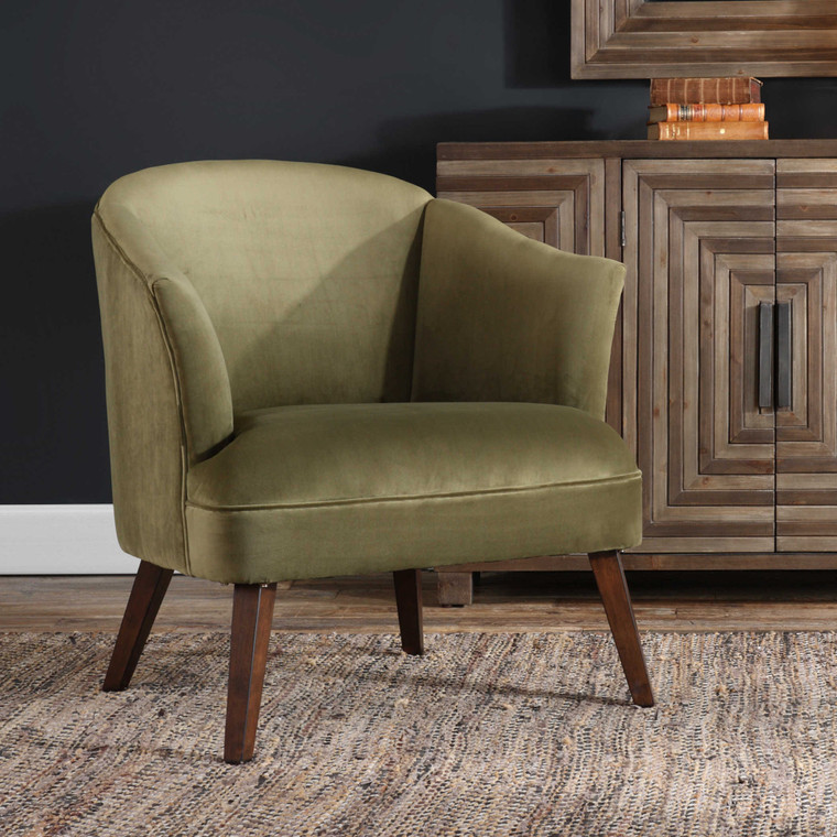 Uttermost Conroy Olive Accent Chair 23321