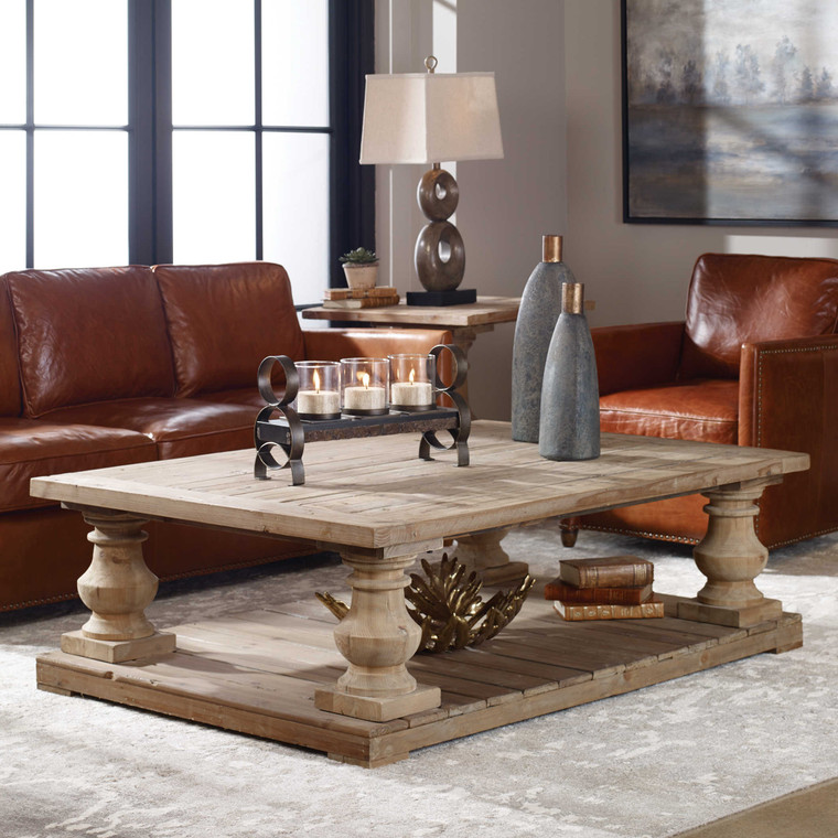 Uttermost Stratford Rustic Cocktail Table 24251