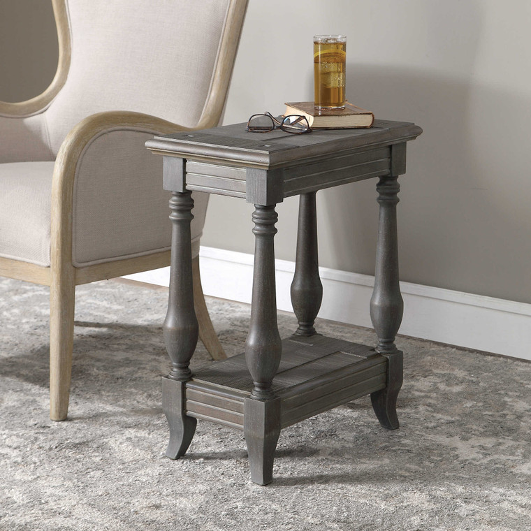 Uttermost Mardonio Distressed Accent Table 24295