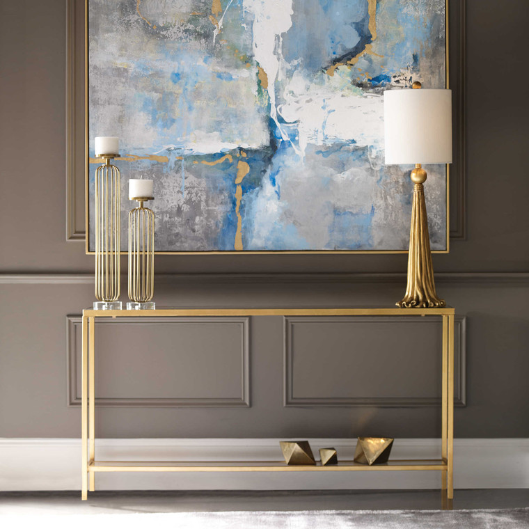 Uttermost Hayley Gold Console Table 24685