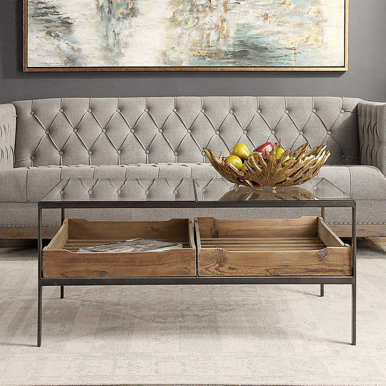 Uttermost Silas Coffee Table 24855