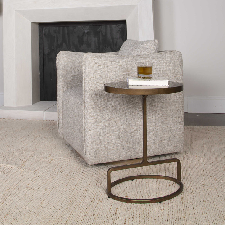 Uttermost Jessenia Stone Accent Table 25348