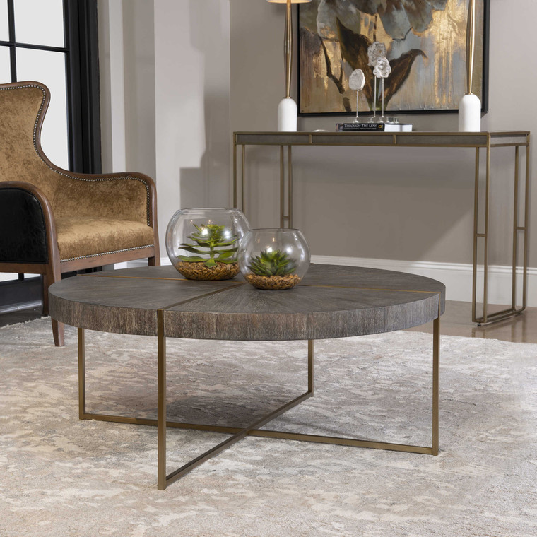 Uttermost Taja Round Coffee Table 25378