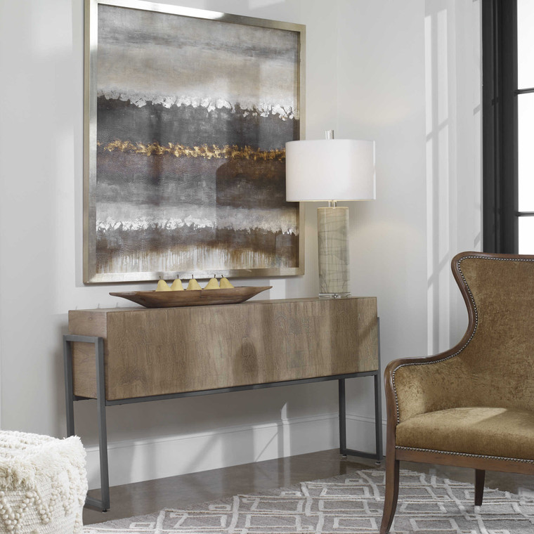 Uttermost Nevis Contemporary Console Table 25402