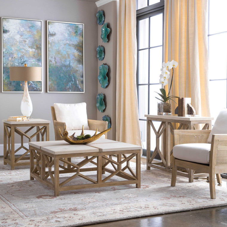Uttermost Catali Stone Coffee Table 25885