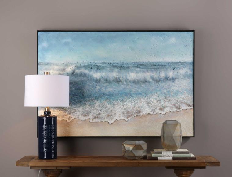 Uttermost Rolling Tide Landscape Art 31319