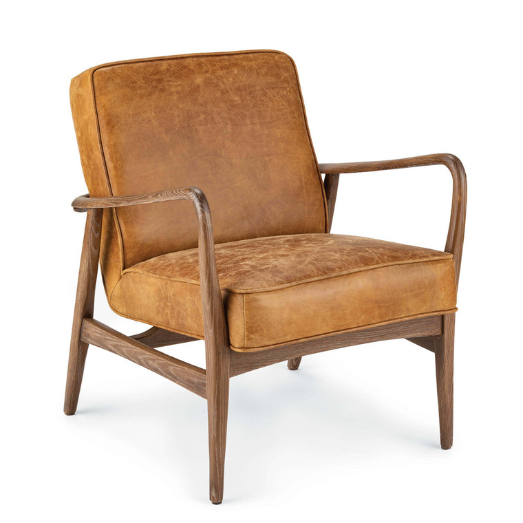 Regina Andrew Surrey Leather Chair 32-1137BRN