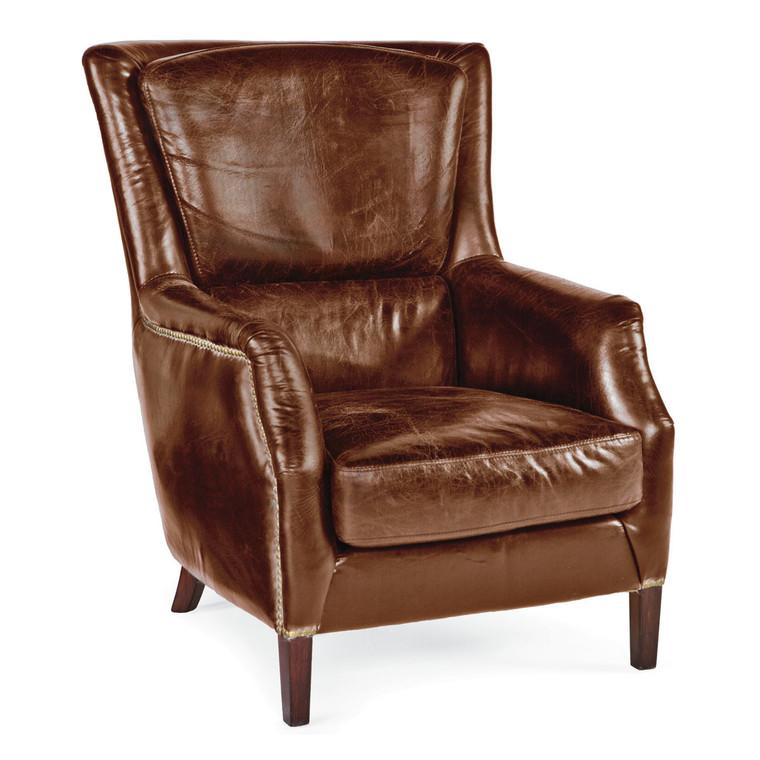Regina Andrew Leather Garconniere Chair 32-1004VBR