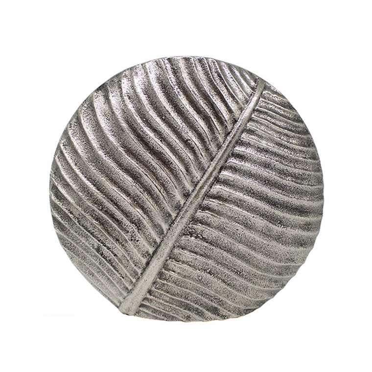 Worlds Away Marty Medium Textured Round Vase in Antique Silver MARTY AN
