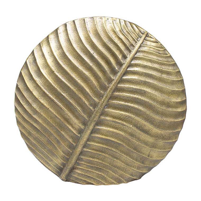 Worlds Away Marty Large Textured Round Vase in Antique Brass MARTY ABR