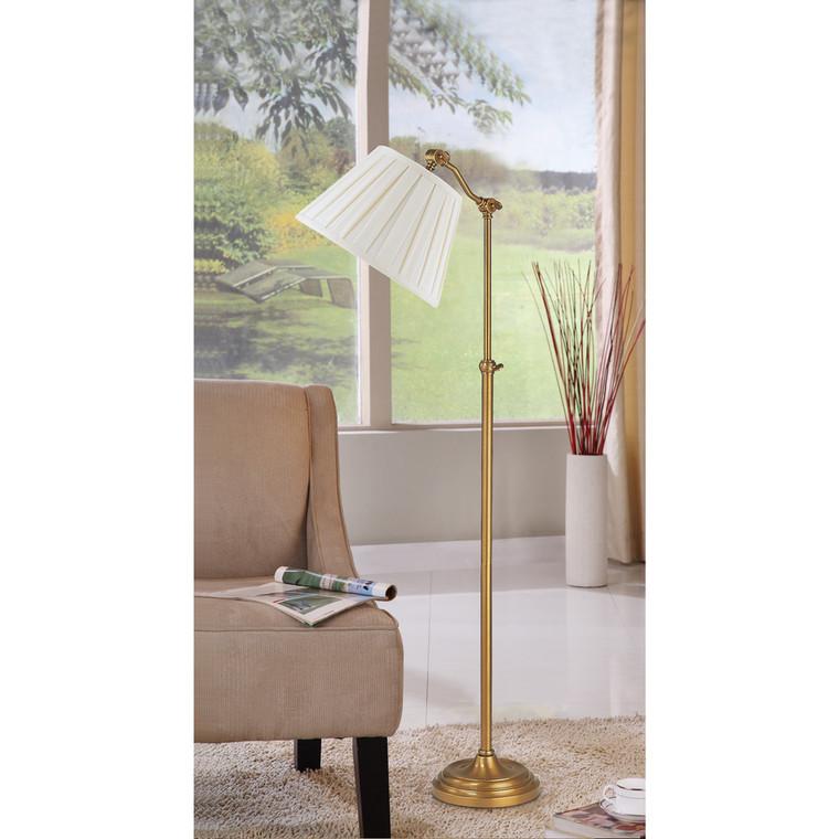 Lite Master Dorest Adjustable Floor Lamp Antique Solid Brass F5616AB-SR