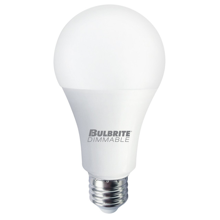 Bulbrite: 774142 LED A19  Watts: 11 = 75 W - LED Warm & Bright Dimmable 11A19/827/D/3 (1 Pack)