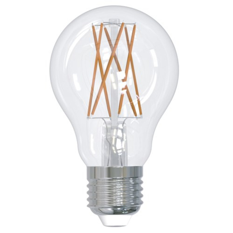Bulbrite: 776813 9W LED A19 2700K Filament E26 Fully Compatible Dimming