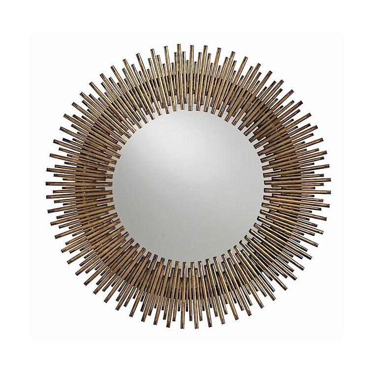 WAREHOUSE CLEARANCE: Arteriors Home Prescott Round Mirror 2134