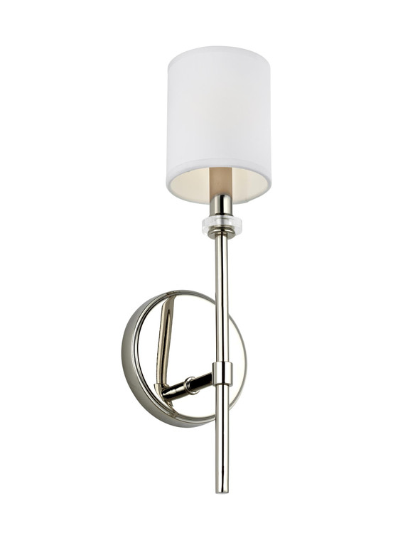 Feiss Bryan 1 - Light Wall Sconce in Polished Nickel
