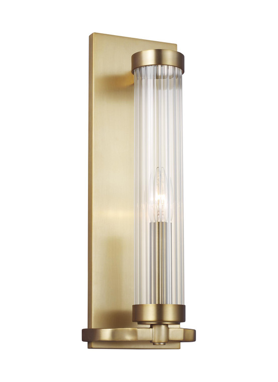 AH - Alexa Hampton Lighting Demi 1 - Light Sconce in Burnished Brass