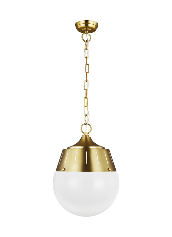 TOB by Thomas O'Brien Arlett 2 - Light Pendant in Burnished Brass