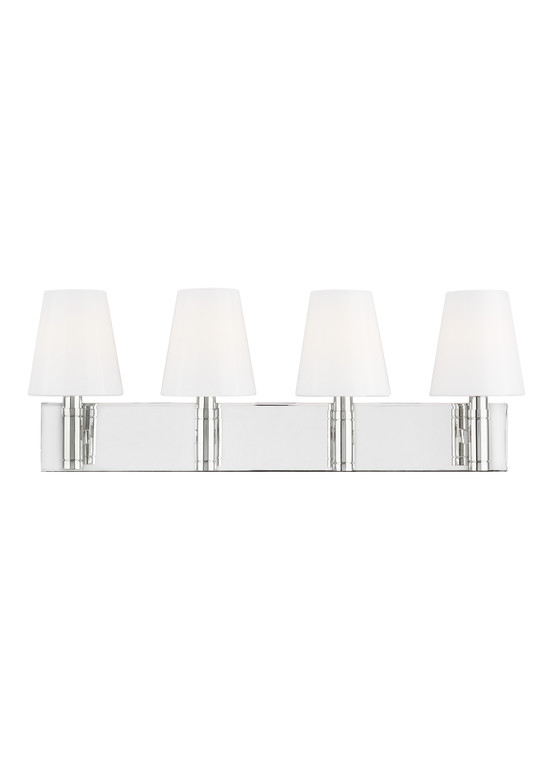 TOB by Thomas O'Brien Beckham Classic 4 - Light Vanity in Polished Nickel