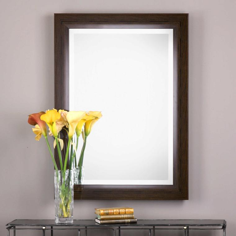 Lily Lifestyle Mirror Dark Bamboo W00414
