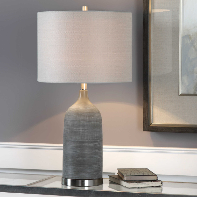 Lily Lifestyle Table Lamp Textured Ceramic Finished I W26001-1