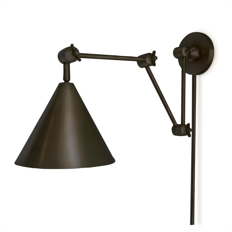 Regina Andrew Zig Zag Task Sconce in Oil Rubbed Bronze 15-1008ORB