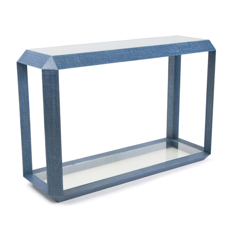 Regina Andrew Aegean Console Table in Indigo 30-1103IND