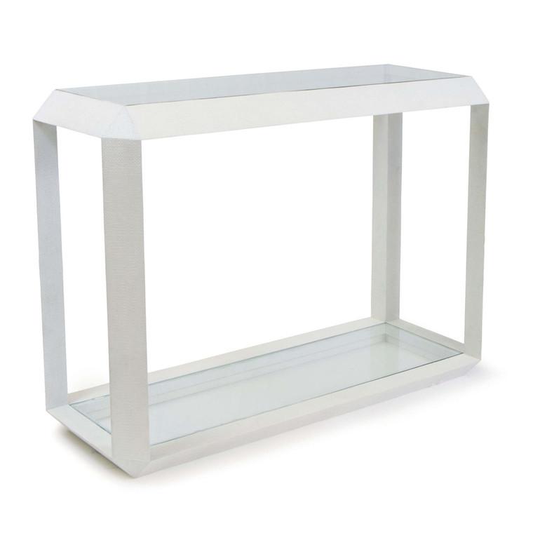 Regina Andrew Aegean Console Table in White 30-1103WT